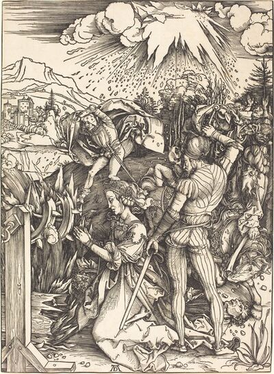 Albrecht Dürer, 'The Martyrdom of Saint Catherine', ca. 1497/1499