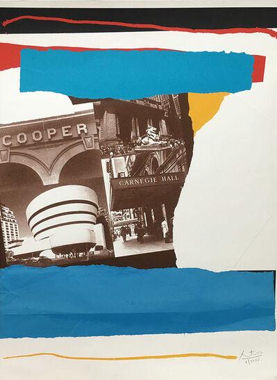 Robert Motherwell, 'Carnegie Hall', 1982