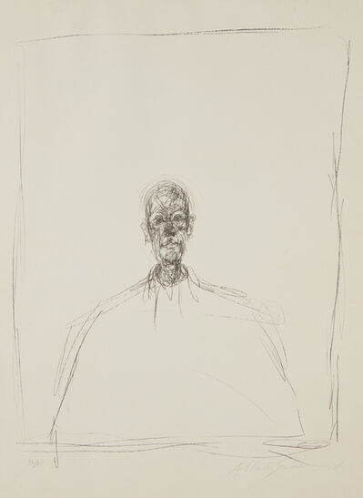 Alberto Giacometti, 'Buste d'homme (Bust of a Man)', 1964