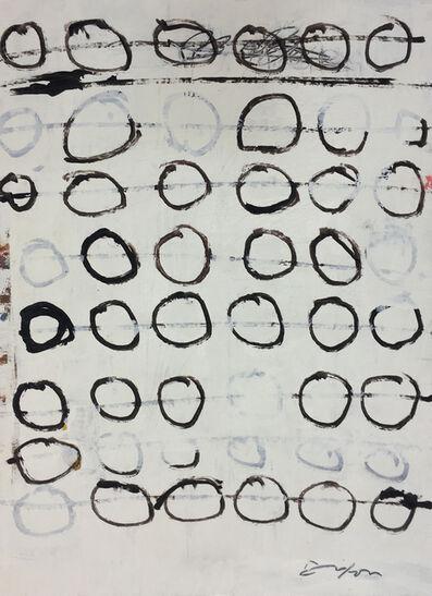 Tom E. Dixon, 'line circles', 2019