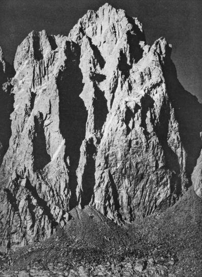 Ansel Adams, 'Mount Winchell in Kings River Sierra', 1939