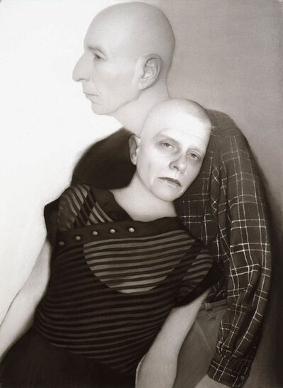 Susan Hauptman, 'Self-Portrait (with Leonard)', 2006