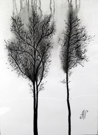 Alena Vavilina, 'Foggy Forest'