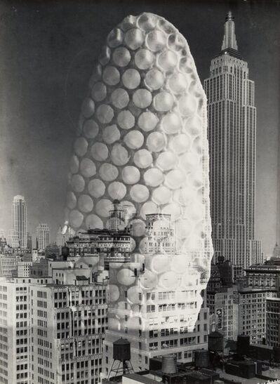 Barbara Morgan, 'Wind Bee Honey Comb Skyscaper', 1975