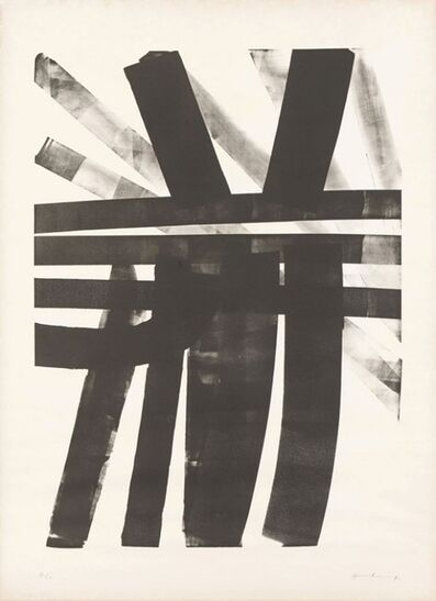 Hans Hartung, 'L-19', 1974