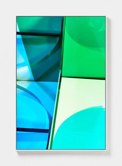 Lydia Wegner, 'Aqua Green', 2019