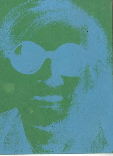 Andy Warhol, 'Rare silkscreen invitation card to Andy Warhol birthday celebration, from the collection of Tim Hunt, Andy Warhol's agent at the Warhol Foundation and Tama Janowitz', 2009