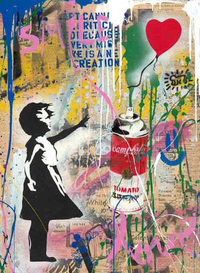 Mr. Brainwash, 'Balloon Girl Small', 2019