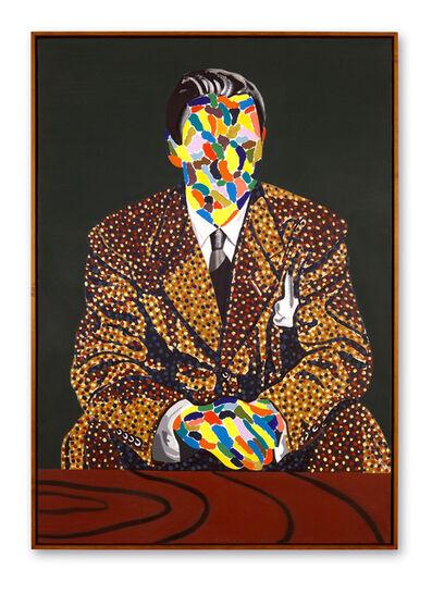 Eduardo Arroyo, 'PEINTRE ET MANTEAU', 1976