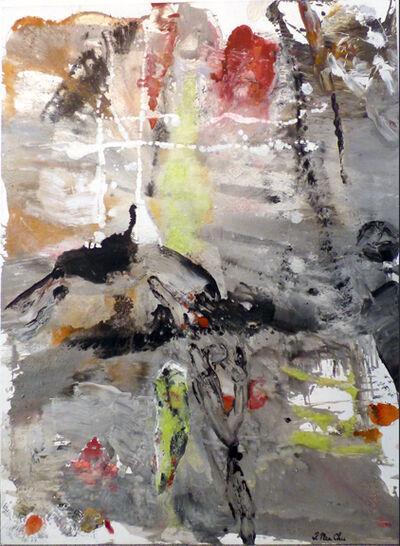 Julia Nee Chu, 'Gray, Yellow, Red'