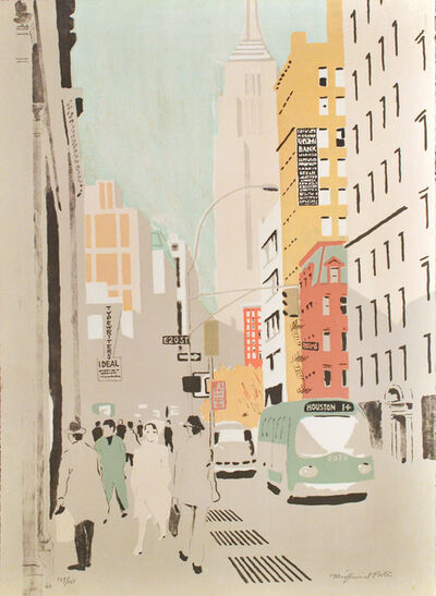Fairfield Porter, 'Broadway', 1972