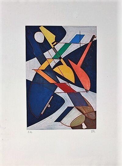 Man Ray, 'Symphony ou Orchestra', 1970
