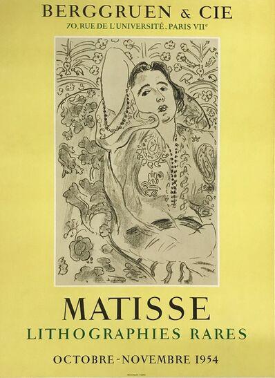 Henri Matisse, 'MATISSE Lithographies rares', 1954
