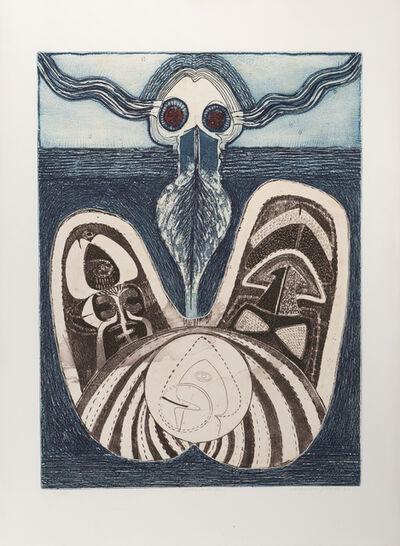 Juarez-Castillo Claudio, 'El Fondo del Mar', 1970