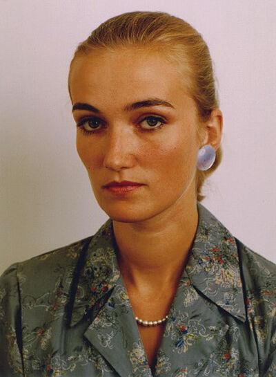 Thomas Ruff, 'Porträt (A. Wagner)', 1985