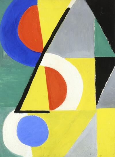 Sonia Delaunay, 'Rythmes colorés', 1954
