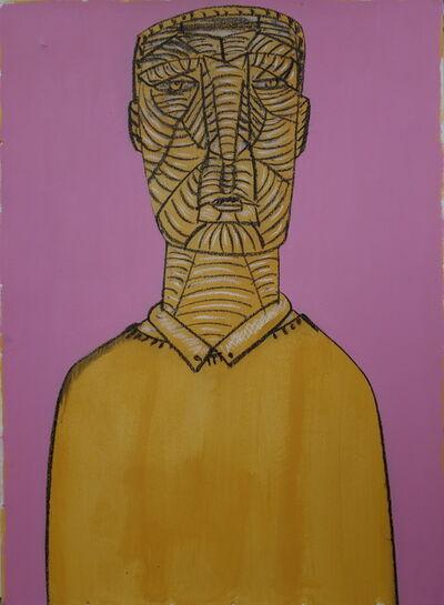 Dumitru Gorzo, 'Head 2', 2017