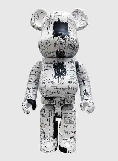 BE@RBRICK, 'Jean-Michel Basquiat' 1000% (Black & White)', 2019