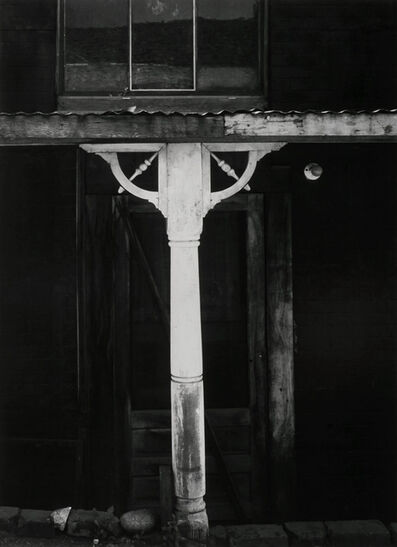 Ansel Adams, 'White Post and Spandrel, Columbia, California', 1953