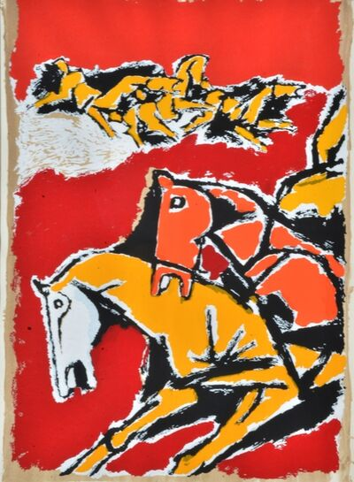 M. F. Husain, 'Untitled ', Edition:161/225