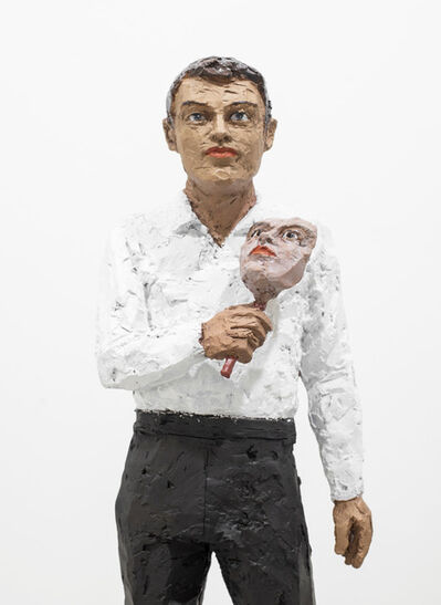 Stephan Balkenhol, 'Mann mit Maske (Man with Mask)', 2020