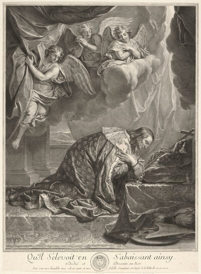 Charles Le Brun, '[Portrait of Saint Louis, King of France]'