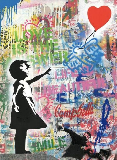 Mr. Brainwash, 'Balloon Girl', 2020