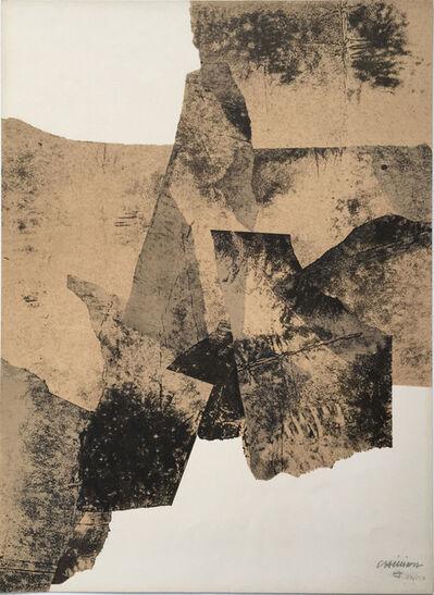 Eduardo Chillida, 'Affiche no 73 ', 1961