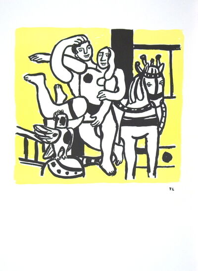 Fernand Léger, 'Le Jeu (The Game)', 1986