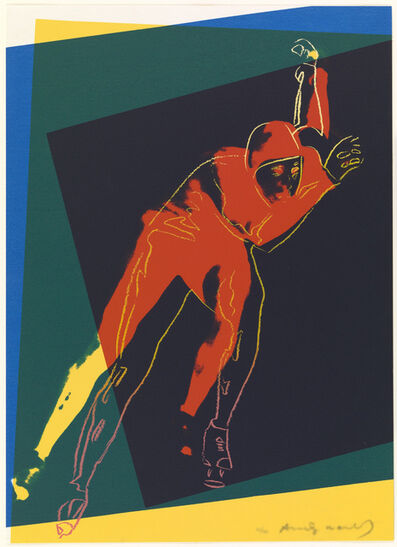 Andy Warhol, 'Speed Skater', 1983