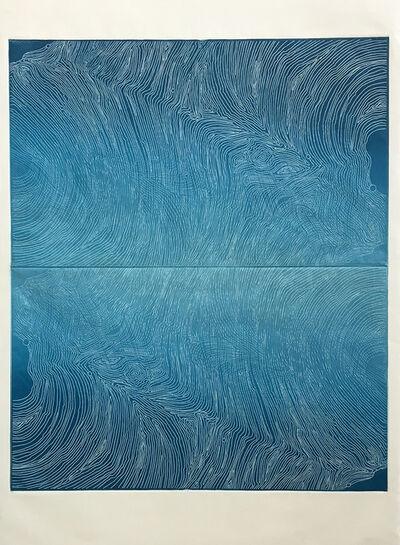 Lisa Schonberg, 'Meandering Wind x2', 2018