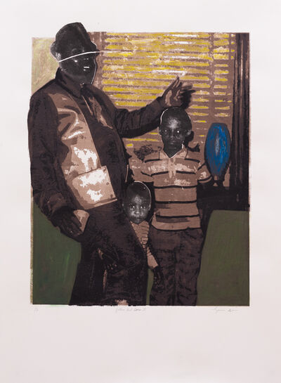 Tyanna J. Buie, 'Father and Sons II', 2018