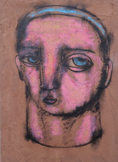 Dumitru Gorzo, 'Head 4', 2017