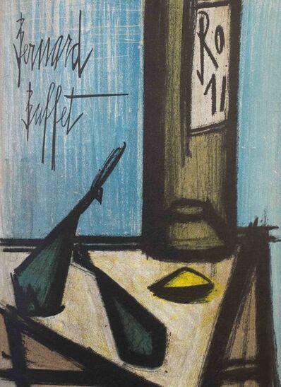 Bernard Buffet, 'Still Life with Bottle', 1968
