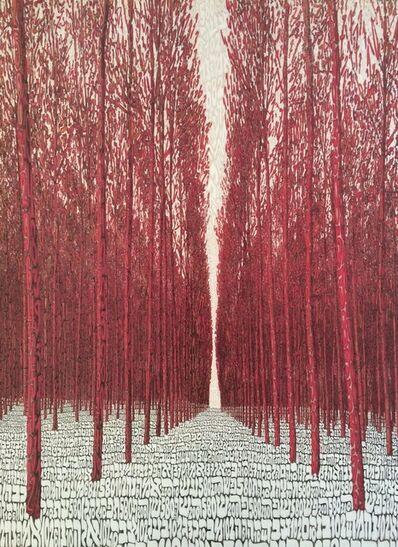 Tobia Rava, 'Foresta Fucsia', 2017