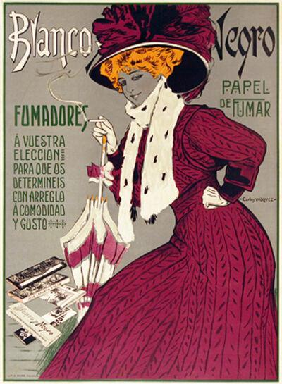 Carlos Vazquez, 'BLANCO Y NEGRO CIGARETTE PAPERS', c. 1918