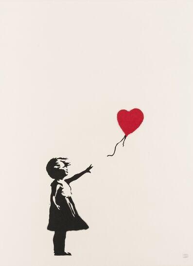 Banksy, 'Girl With Balloon', 2004