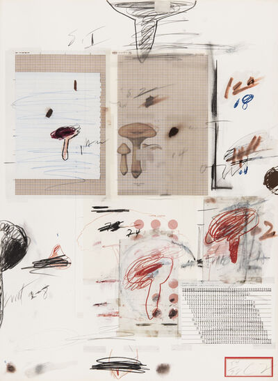 Cy Twombly, 'Natural History Part I N° IV', 1974