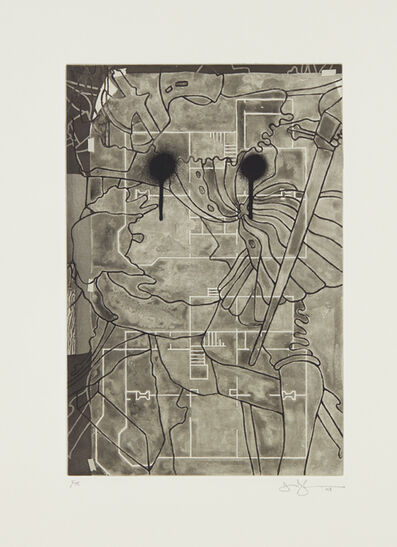 Jasper Johns, 'Untitled, from Henry Geldzahler', 1999