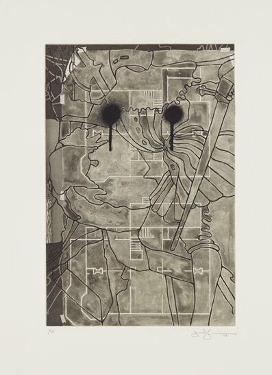 Jasper Johns, 'Untitled, from Henry Geldzahler', 1999