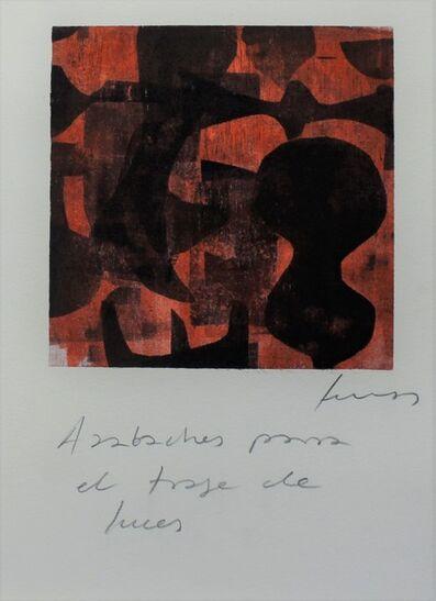 Damián Lescas, 'Azabaches para el traje de lunes', 2019