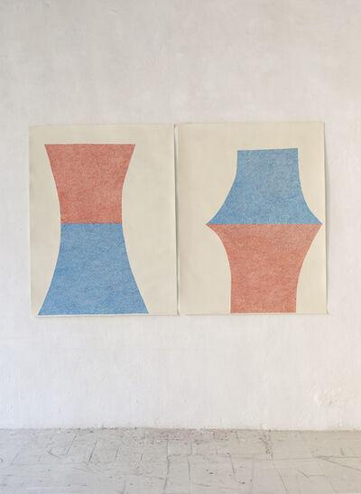 Sabine Finkenauer, 'Untitled (diptych)', 2017