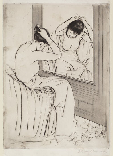 Mary Cassatt, 'The Coiffure', ca. 1891