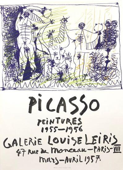 Pablo Picasso, 'Picasso Peintures 1955 - 1956', 1957