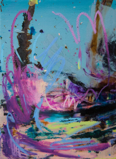 Cristiano di Martino, 'Studio per un Paesaggio II', 2019