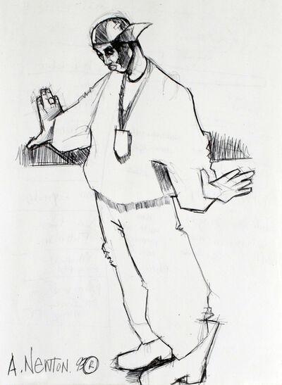 Anthony Newton, 'Hip-Hop Metropolis', 1993