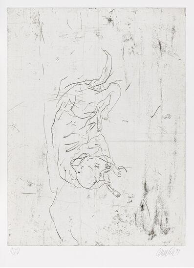 """Georg Baselitz, 'Astor, from """"Schlafende Hunde""""', 1998-1999"""