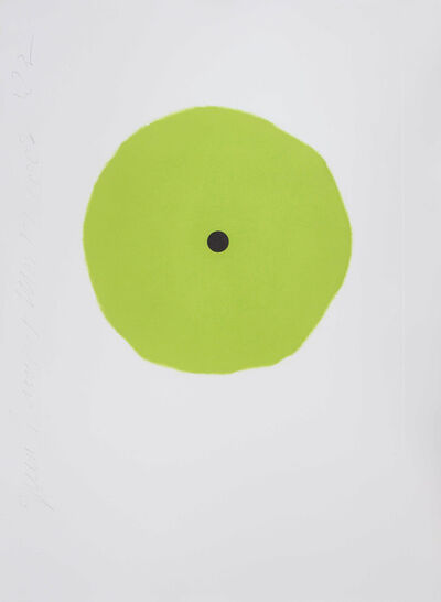 Donald Sultan, 'Green Trumpet', 2008