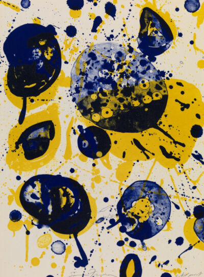 Sam Francis, 'An 8 Set (5)', 1963