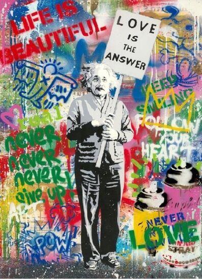 Mr. Brainwash, 'Einstein (Small, unique)', 2020